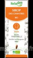 Herbalgem Sirop Bio Des Chantres 150ml à UGINE