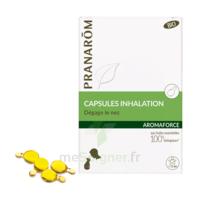 Aromaforce Caps inhalation bio B/15 + Inhalateur à UGINE