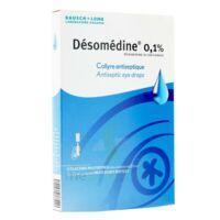DESOMEDINE 0,1 % Collyre sol 10Fl/0,6ml à UGINE
