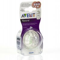 TETINE AVENT NATURAL DEBIT VARIABLE x 2 à UGINE