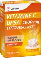 Vitamine C Upsa Effervescente 1000 Mg, Comprimé Effervescent à UGINE