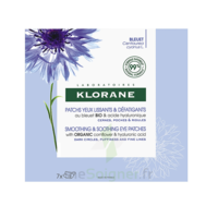 Klorane Bleuet Bio Patchs Défatigants Express 7x2 Patchs à UGINE