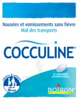 Boiron Cocculine Comprimés Orodispersibles B/40 à UGINE